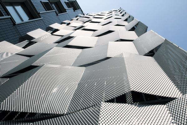 Arquitectura con malla desplegada